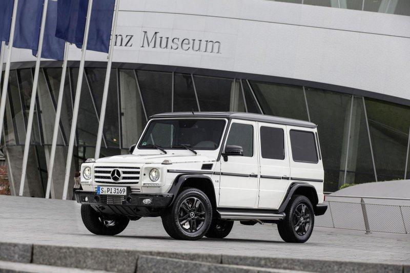 Mercedes-Benz выпустил юбилейный внедорожник G-Class Edition 35