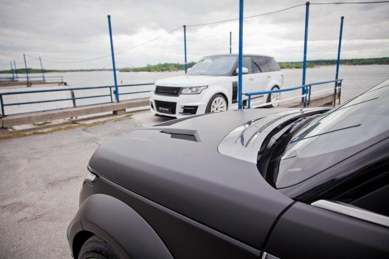 Обвес CLR R на Range Rover LWB от Lumma Design