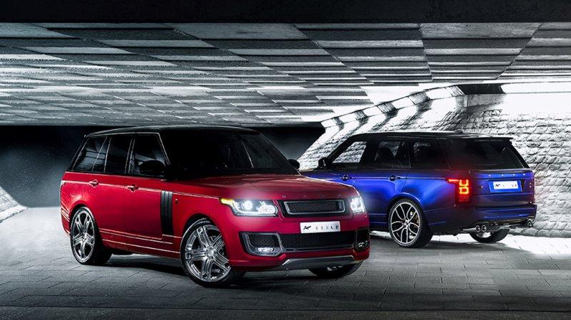 A. Kahn Design подготовил отдельный пакет 600-LE для Range Rover