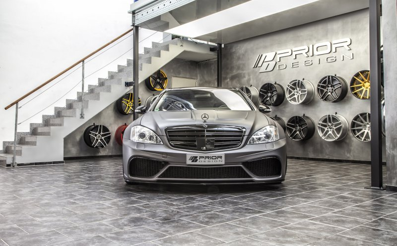 Mercedes-Benz S-Slass (W221) Black Edition V3 �� Prior-Design