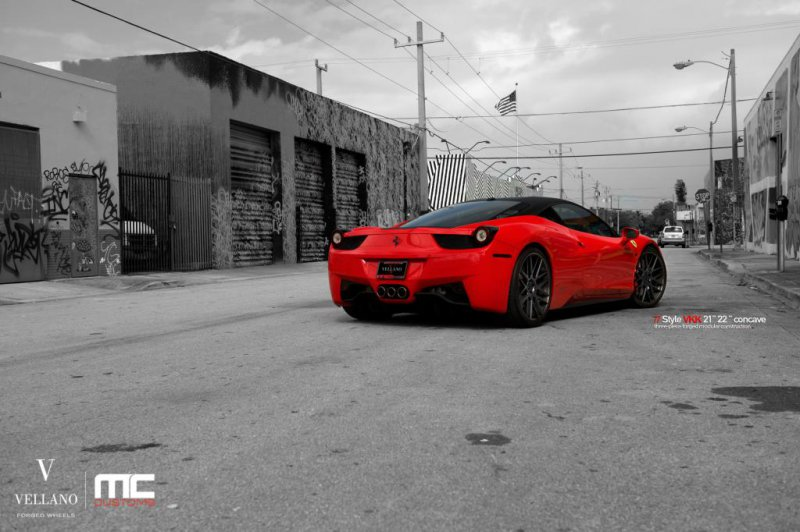 Ferrari 458 Italia в доработке MC Customs