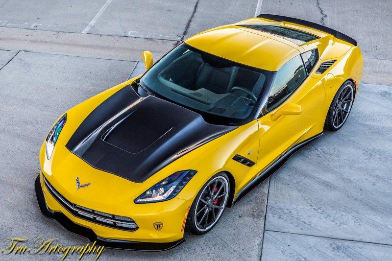 TruFiber поработал над Chevrolet C7 Corvette Stingray