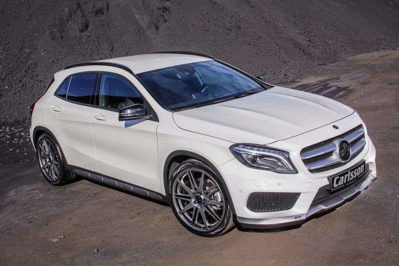 Ателье Carlsson доработало Mercedes-Benz GLA
