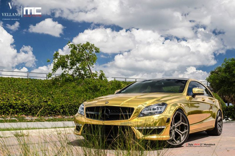Mercedes-Benz CLS63 AMG в тюнинге MC Customs