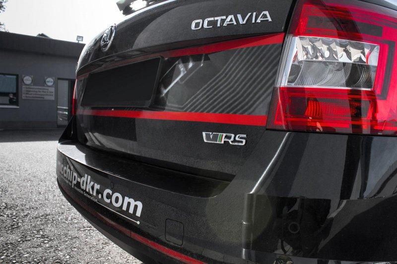 Mcchip-DKR добавил мощности Skoda Octavia Combi vRS TDI