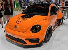SEMA 2014: VW Beetle R-Line от RAUH-Welt Begriff и Таннера Фауста