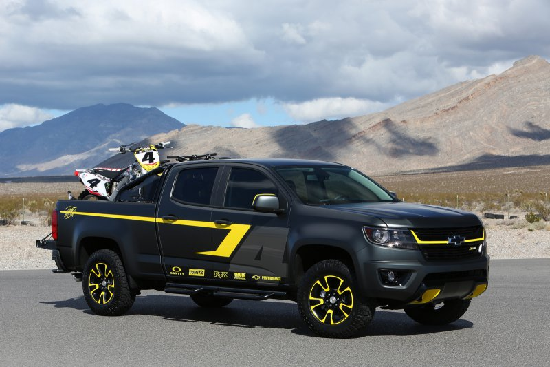 Chevrolet Colorado Performance Concept для SEMA 2014