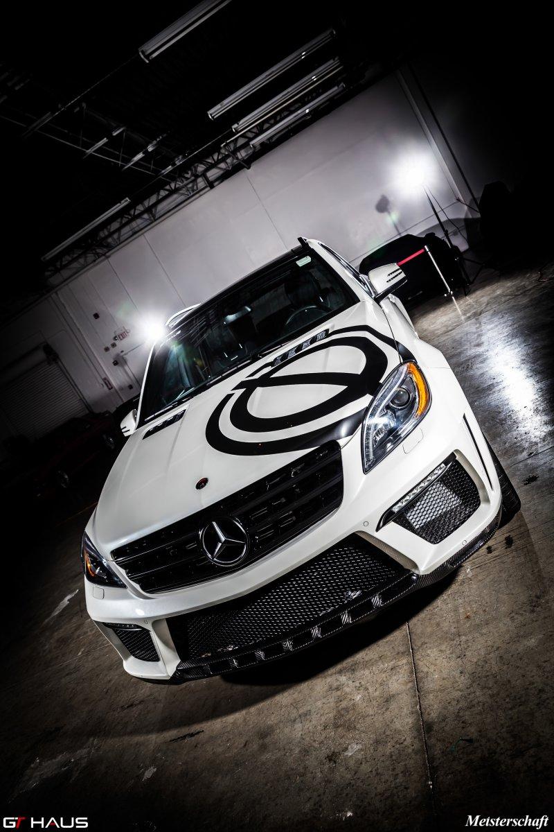 Mercedes-Benz ML63 AMG в исполнении GT Haus