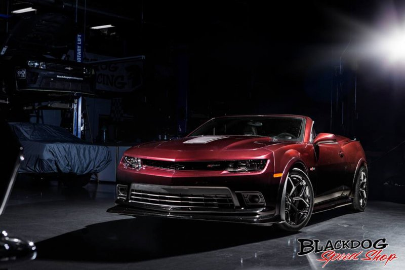 Chevrolet Camaro Z/28 Convertible от Blackdog Speedshop