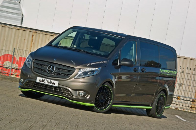 Hartmann поработал над новым Mercedes-Benz Vito