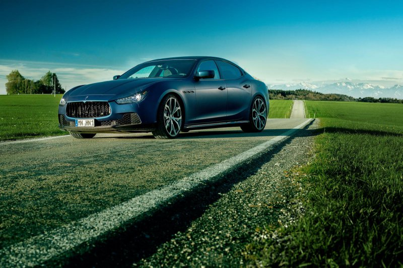 В ателье Novitec Tridente доработали Maserati Ghibli