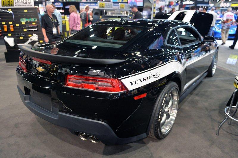 SEMA 2014: SLP представил Chevrolet 427 Camaro Yenko