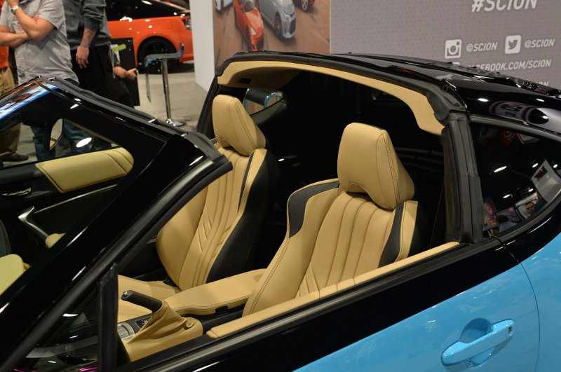 SEMA 2014: Scion FR-S в кузове тарга от Cartel Customs