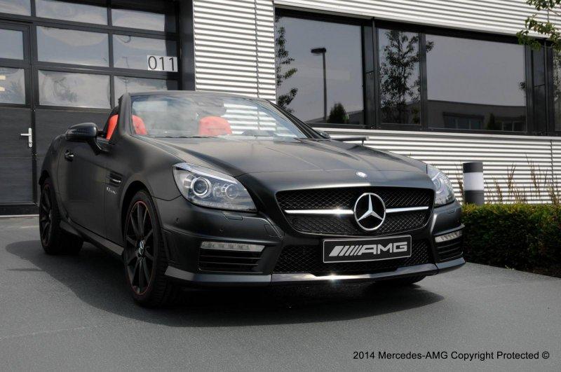 Mercedes-Benz SLK 55 AMG от AMG Performance Studio
