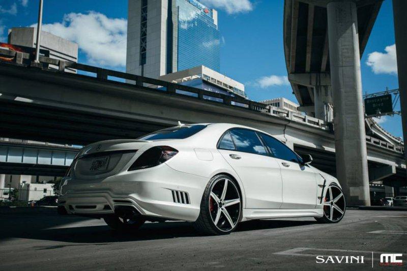 Mercedes-Benz S550 W222 в исполнении MC Customs