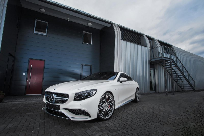 Mercedes-Benz S63 AMG Coupe W222 в тюнинге IMSA