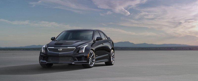 Лос-Анджелес 2014: Cadillac показал «заряженный» вариант ATS-V