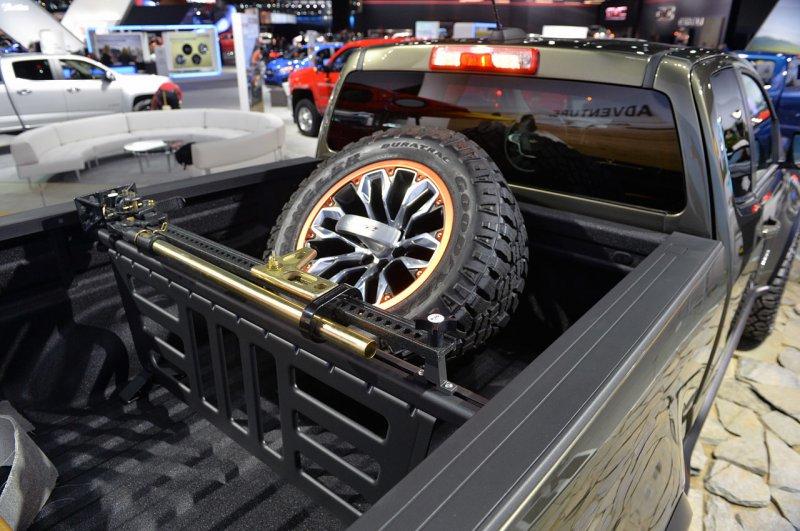 Лос-Анджелес 2014: GM показал внедорожник Chevrolet Colorado ZR2