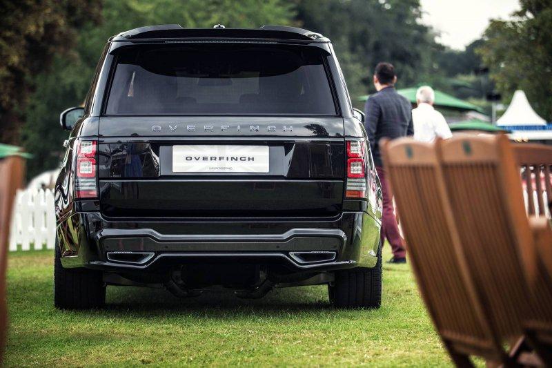 Overfinch представил Range Rover LWB за 320 000$