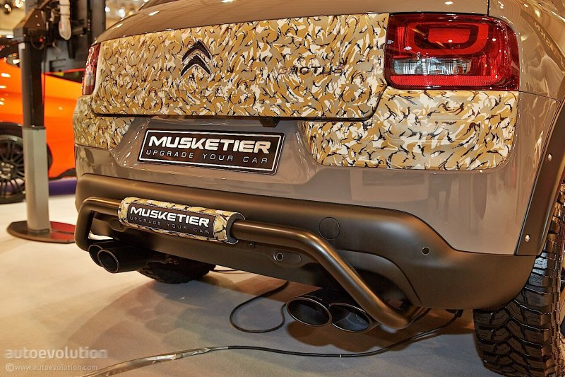 Эссен 2014: Citroen C4 Cactus SurCross от Musketier