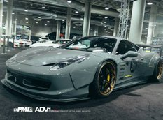 Ferrari 458 Italia в обвесе Liberty Walk от Platinum Motorsport