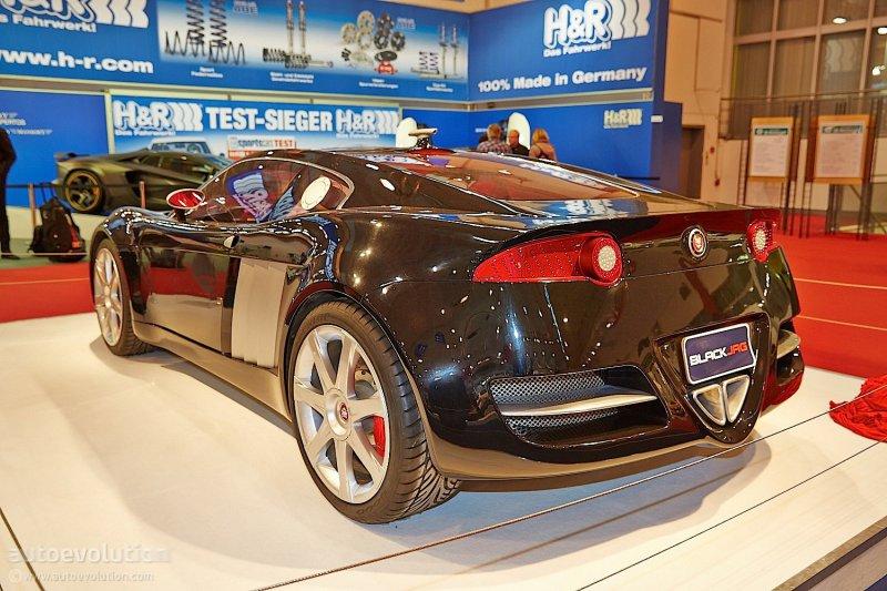 Эссен 2014: единственный спорткар Jaguar BlackJag от Fuore Design