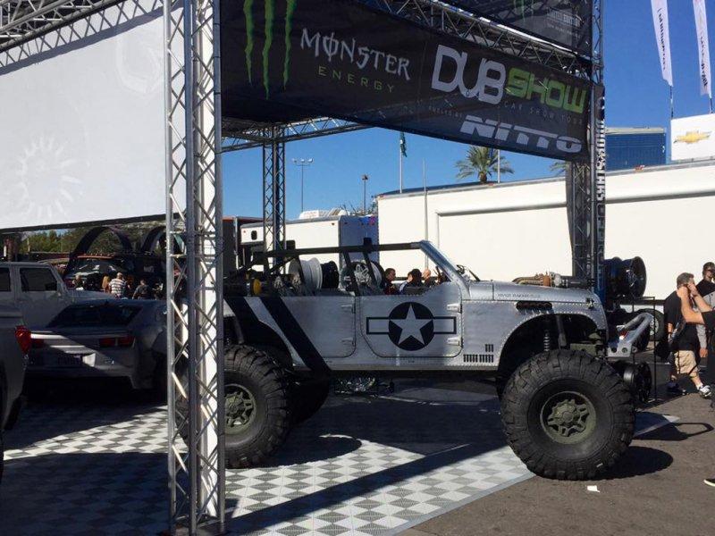 Милитаризированный Jeep Wrangler Unlimited от Hauk Designs