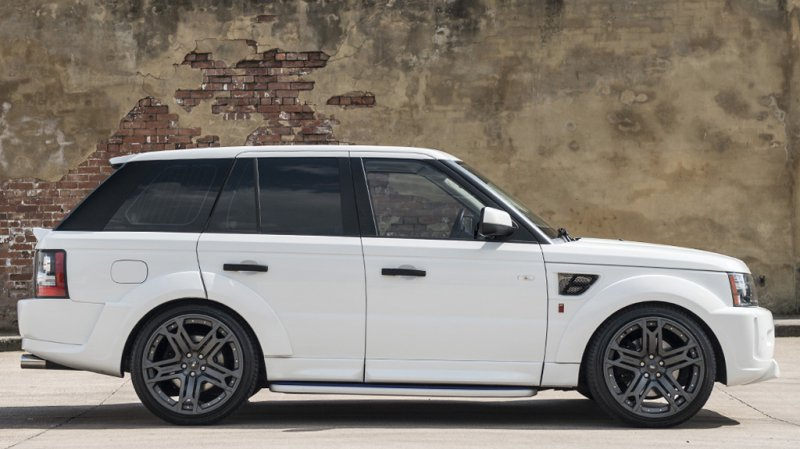Range Rover Sport Fuji RS300 White Project от A. Kahn Design