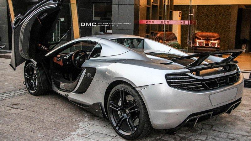 DMC доработал McLaren MP4-12C Spider MSO