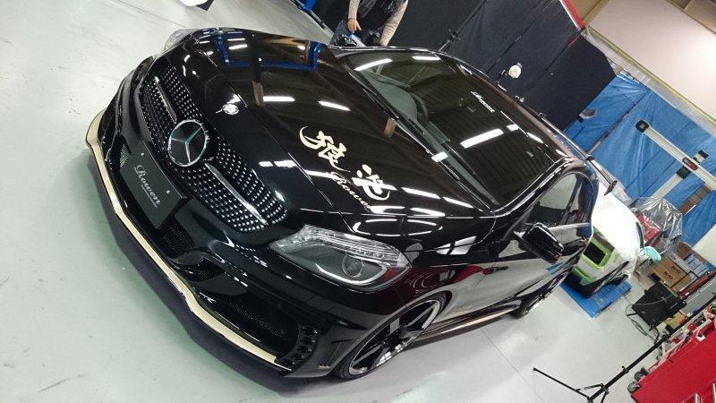Mercedes A-Class (W176) в тюнинге Rowen Japan