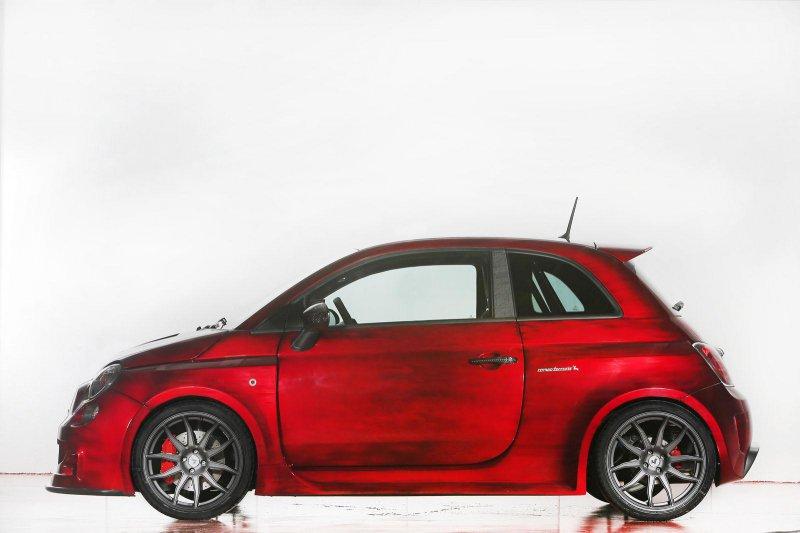 Romeo Ferraris представил хэтчбек Cinquone на базе Fiat 500 Abarth