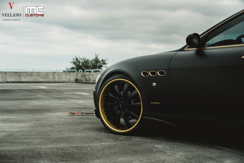 Maserati Quattroporte в стилистической настройке MC Customs