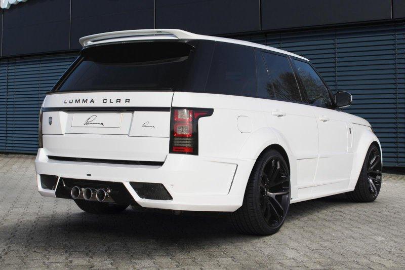 Lumma Design презентовал Range Rover CLR R GT Evo