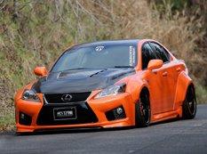 Lexus IS-F VIP GT в тюнинге Aimgain