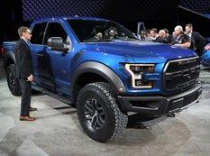 Детройт 2015: Ford показал новый F-150 Raptor с мотором V6