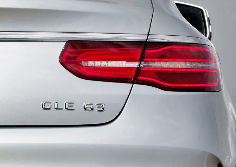 Рассекречен «заряженный» кроссовер Mercedes-AMG GLE 63 Coupe