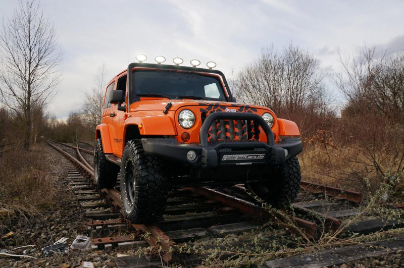 Компрессорный Jeep Wrangler Sport 3.6L Supercharged от Geiger Cars