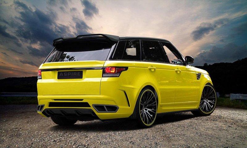Range Rover Sport в спортивном обвесе Aspire Design