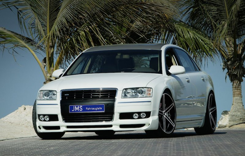 Audi A8 4E в доработке JMS Styling