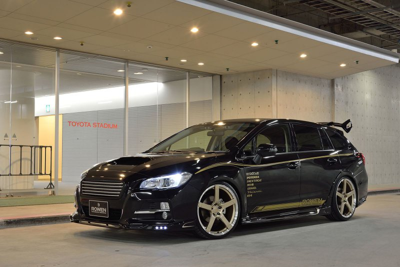Subaru Levorg в спортивном обвесе Rowen