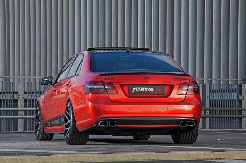 Mercedes-Benz E63 AMG от Fostla и PP-Performance
