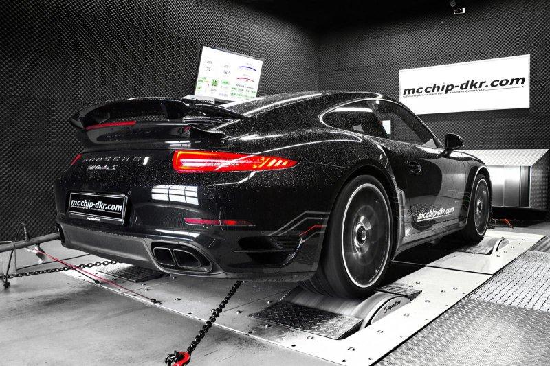 Специалисты из mcchip-dkr увеличили мощность Porsche 911 Turbo S