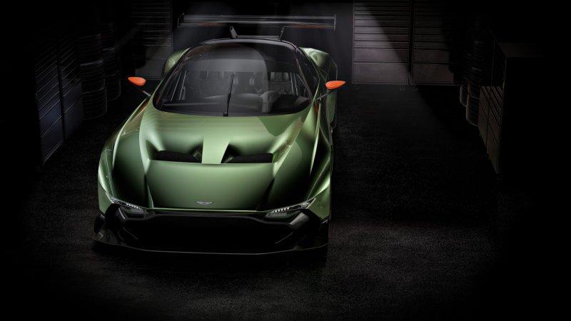 Skunkworks возьмутся за Aston Martin Vulcan