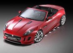 Jaguar F-Type Roadster от Piecha Design