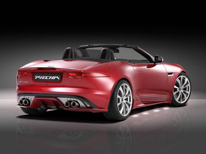Jaguar F-Type Roadster от Piecha Design