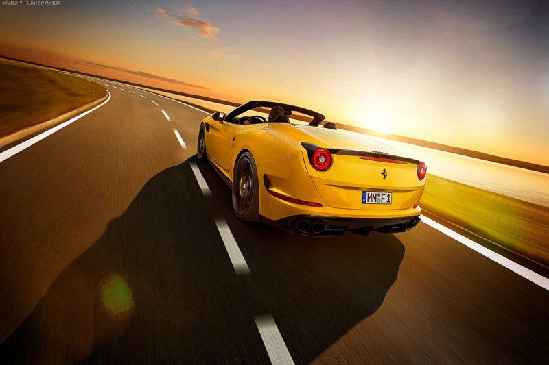 Ferrari California T в тюнинге от Novitec Rosso