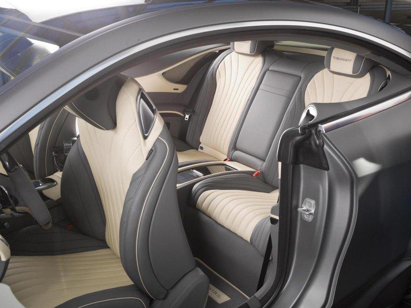 887-сильный Mercedes-Benz S63 AMG Coupe от Mansory