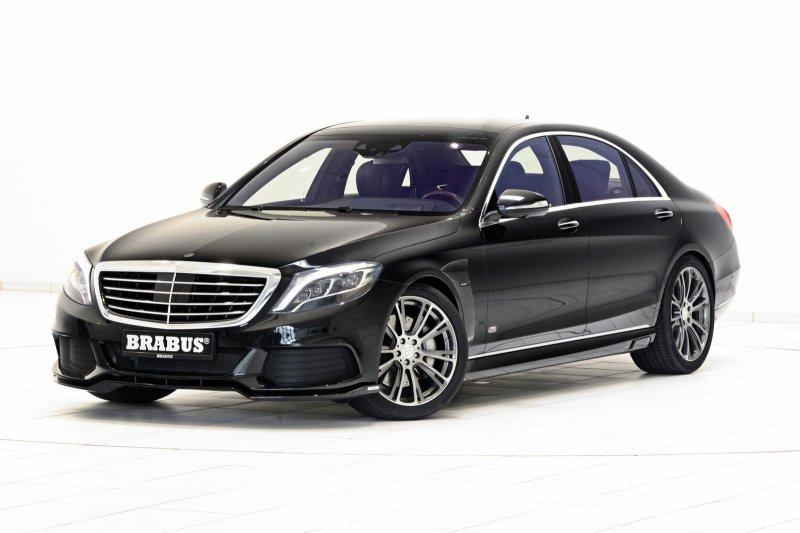 Гибридный Mercedes-Benz S500 (B50) от Brabus