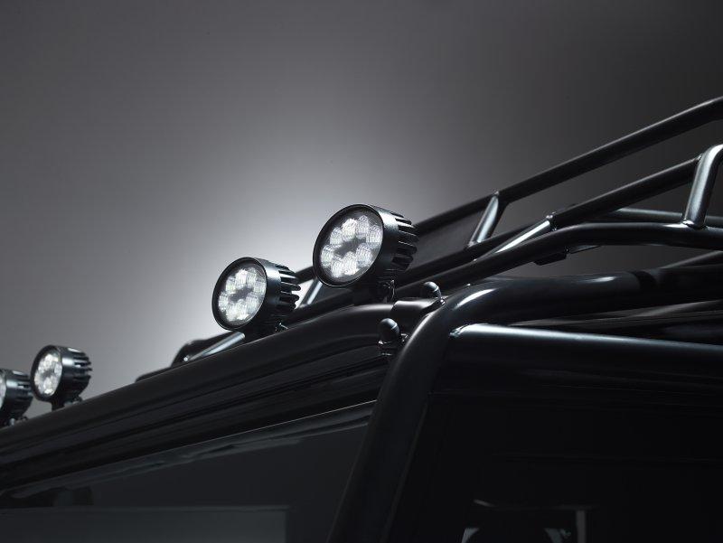 Уникальный Land Rover Defender для Кубка Уэбба Элиса