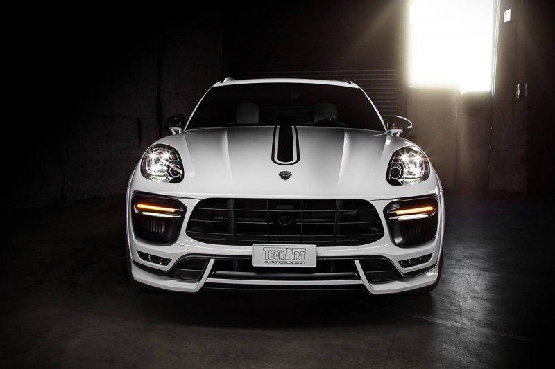 Porsche Macan и Cayenne на пневмоподвеске от TechArt